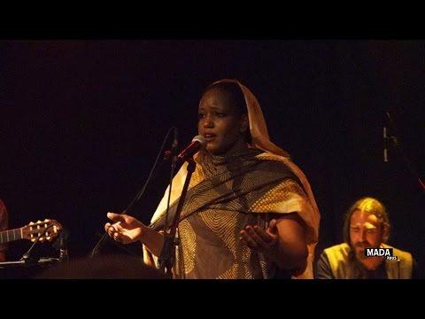Aziza Brahim - live at Yaam Club Berlin