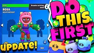 DO THIS FIRST before the BRAWL STARS UPDATE!