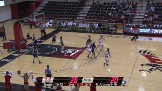 Highlights of Eastern Women's Basketball against Northern Arizona (Mar. 3).