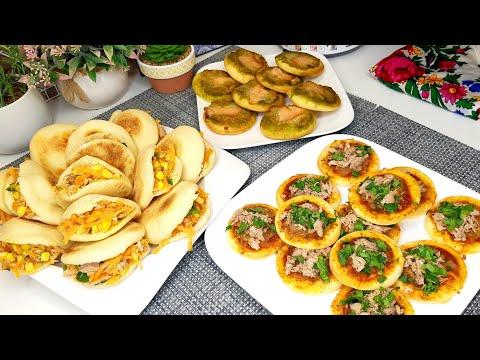 وصفات-رمضانية❤ميني-بيتزا،-بطبوط-بعجينة-قطنية-و-هشة/رمضان-recette-ramadan-mini-pizza-et-batbout