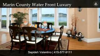 Mill Valley Water Front San Francisco Bay Bridge View Luxury Home Marin County Real Estate