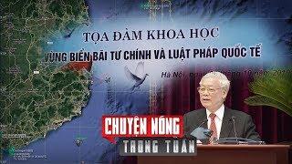 Sức khoẻ Nguyễn Phú Trọng, Biển Đông và chuyến thăm Mỹ