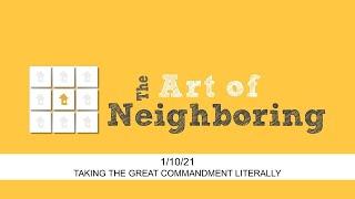 2021/01/10 - Art of Neighboring