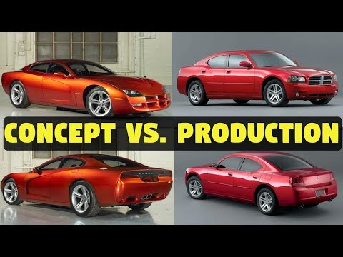 1999 Dodge Charger >> 1999 Dodge Charger R T Concept Cars Vs The Real Thing