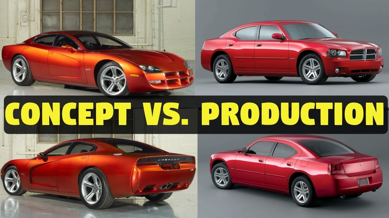 1999 Dodge Charger R/T - Concept Cars vs. The Real Thing ...