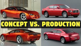 Concept Cars vs. The Real Thing – 1999 Dodge Charger R/T