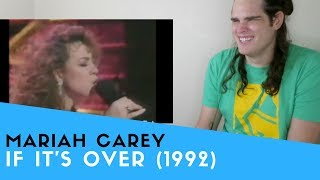 "Voice Teacher Reacts to Mariah Carey - ""If It's Over"""