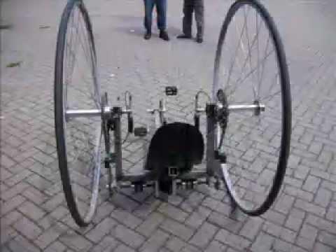 Fastest Electric Bike >> Dicycle TUDelft 2007 Mechanical Engineering - YouTube