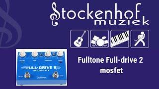 Fulltone Fulldrive 2 mosfet at Stockenhof