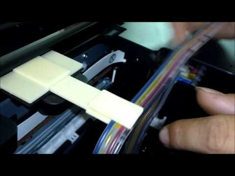 How to Install CISS - Epson T13