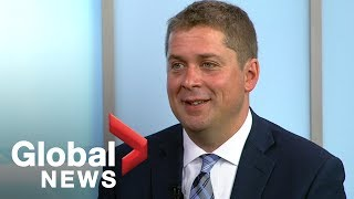 Conservative Party leader Andrew Scheer criticizes Trudeau government, demands transparency