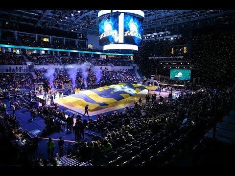 Атмосфера на матче «Химки» - «Зелена Гура» / ВТБ Арена