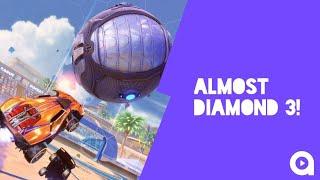 ALMOST DIAMOND 3! - Rocket League