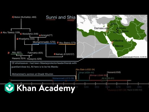 Sunni and Shia Islam part 2  | World History | Khan Academy