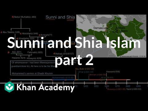 Sunni And Shia Islam Part 2  | World History | Khan Academy