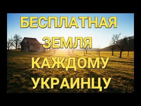 Каждый украинец может получить бесплатную землю. Инструкция.
