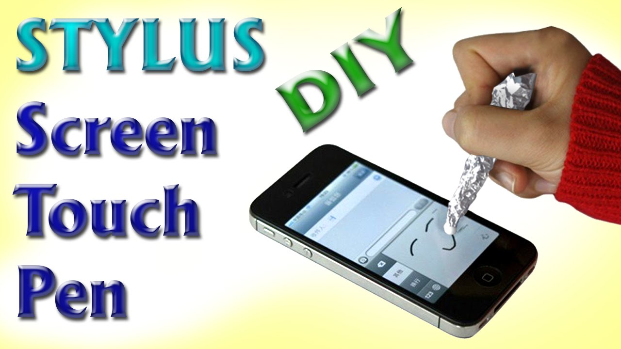 android/iphone Touch Screen Sketch PEN DIY Tutorial ...