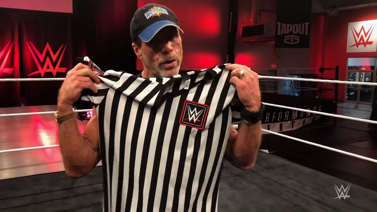 Shawn Michaels Referee