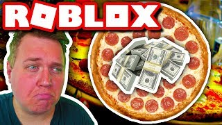 WORST PIZZARIA: BUY BIGGER HOUSE FOR PIZZA MONEY! 🍕:: Vercinger in Roblox english