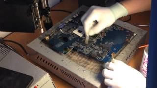 Замена видеочипа Acer 5740(, 2014-10-06T08:23:07.000Z)