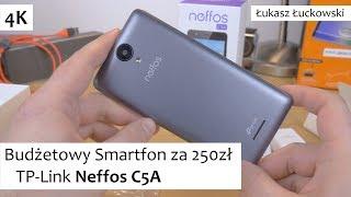 Budżetowy Smartfon za 250zł TP-Link Neffos C5A | Pierwsze chwile