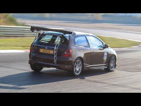 Modified cars & Sportcars going flatout on track | Skylimit Event