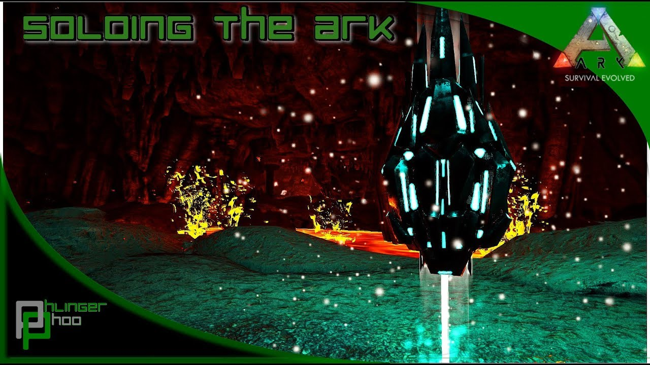 Soloing the Ark S4E57 - ARTIFACT OF THE MASSIVE - LAVA CAVE! WHICH MOUNT IS  BEST?!