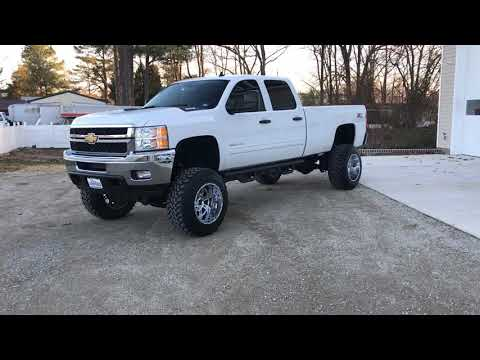 Lifted 2013 Chevrolet Silverado 2500HD