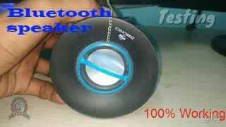Bluetooth and portable  USB Speaker || DIY || Kreative Science.