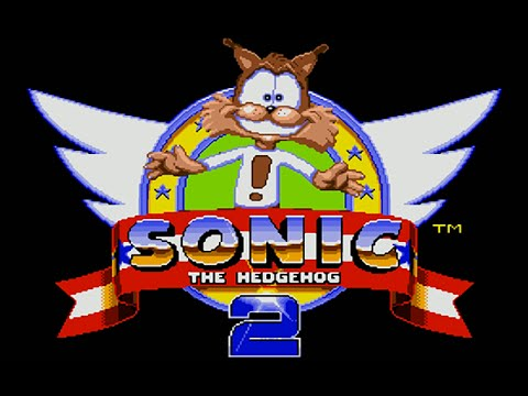 BUBSY IN SONIC 2?! | Weird Video Game Mods
