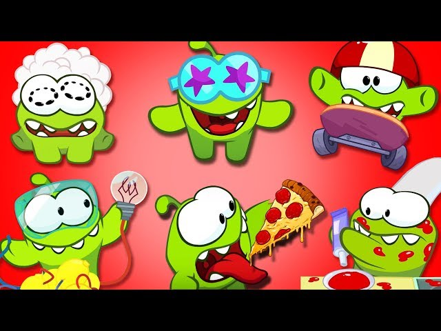 Om Nom Stories: VIDEO BLOG   Cut the Rope 2018   Funny Cartoons for Children by HooplaKidz TV