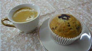 Маффины с вишней / Muffins with cherry