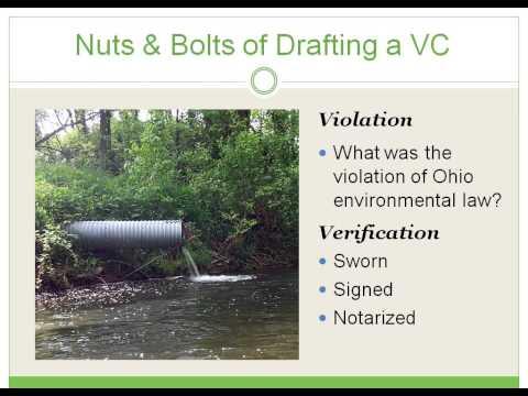 Filing a Verified Complaint