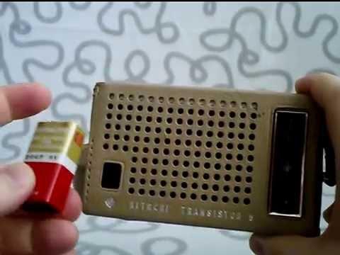 Hitachi Transistor 6 Radio  Mod  Wh-638