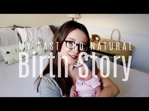 My FAST and NATURAL Birth Story || LoeppkysLife