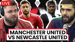Manchester United v Newcastle | LIVE Stream Watchalong