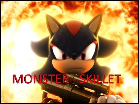 Shadow The Hedgehog - Monster - Skillet - [AMV] (Homenagem Ao Shadow Gabrigamers player)