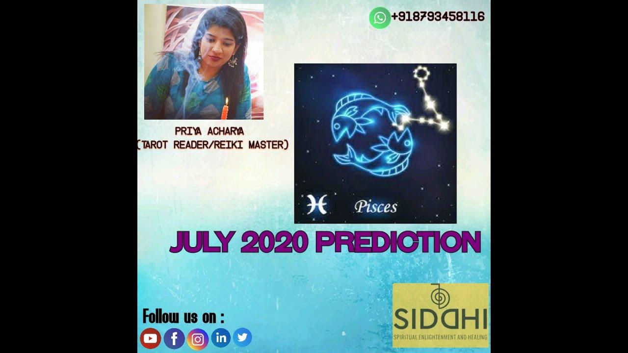 Tarot Reading Pisces / Meen rashi  July 2020 Sign Monthly Tarot Reading Hindi