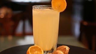 Ginger Lemon Juice-Perfect Summer Drink