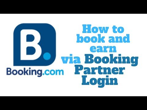How To Book And Earn Using Your BOOKING Affiliate Program Account | BOOKING System Tour