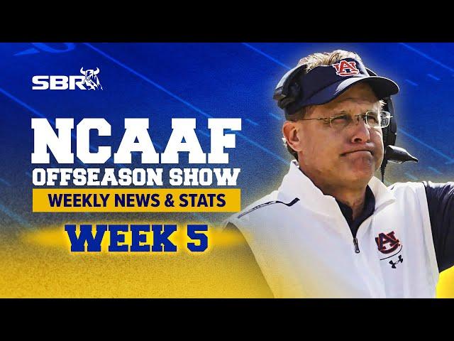 🏈 2021 NCAAF Offseason News & FCS Week 1 Preview