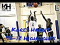 Basketball Trainer Korey Harris' College Mixtape