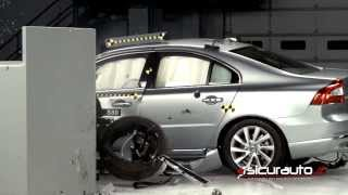 Crash test IIHS - Volvo S80