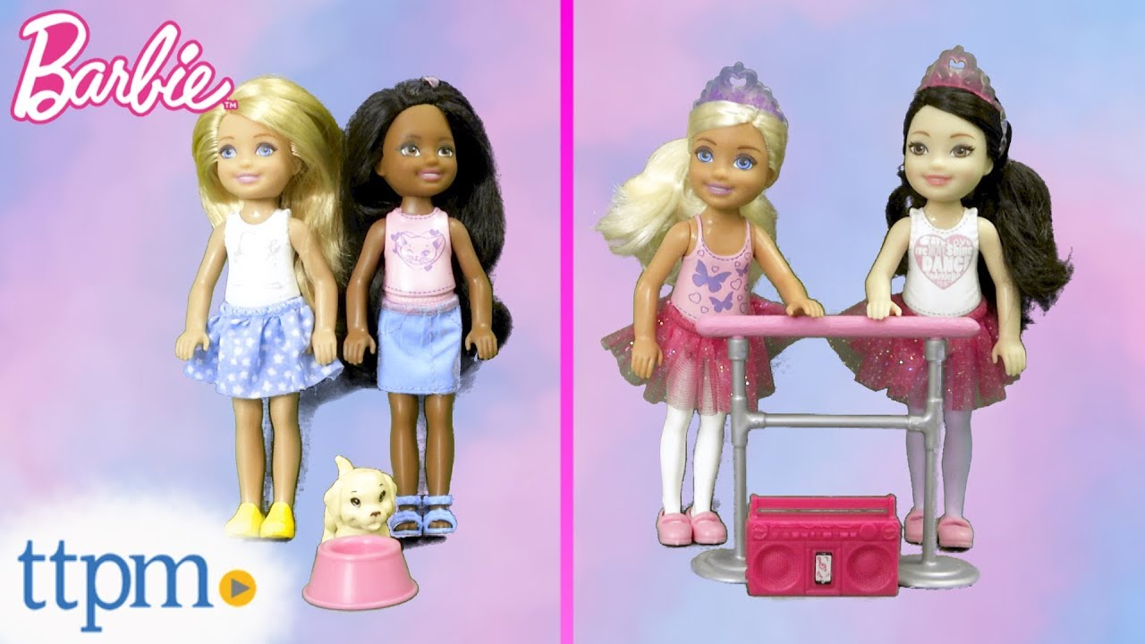 Barbie Chelsea Club Doll 2 Packs From Mattel Youtube