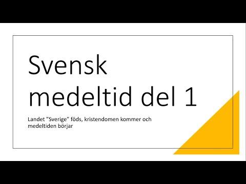 Svensk medeltid del 1 mp3
