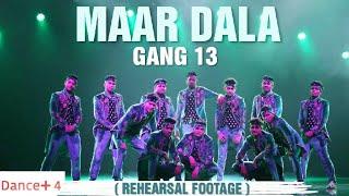 Maar Dala | GANG 13 (rehearsal footage) | Danceplus4  #gang13 #danceplus #madhuridixit