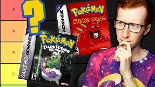 The BEST Pokemon Fan Game Tier List!