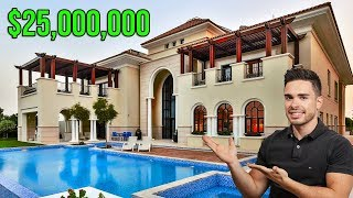 $25 MILLONES POR ESTA MANSION DE LUJO EN DUBAI