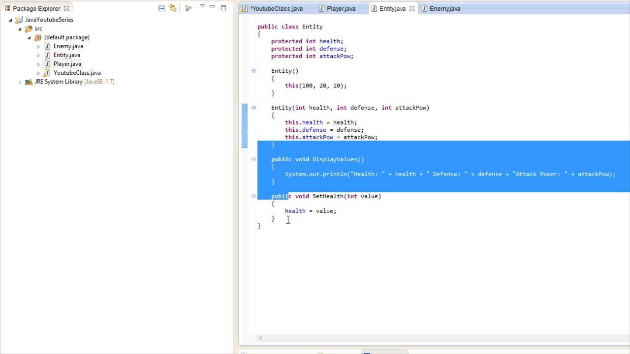 Java made easy tutorial 24 inheritance youtube java made easy tutorial 24 inheritance baditri Image collections