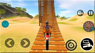 Motocross Beach Bike Stunt Racing - Motor Racer Game - Android Gameplay